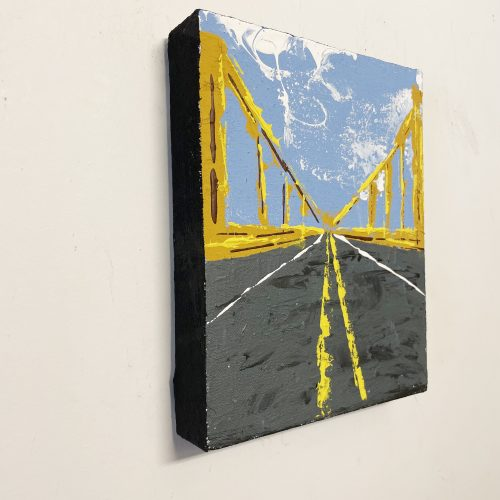 Pittsburgh Bridge Abstract Art Scott Kowalski