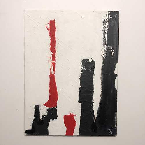 pillar in red 1